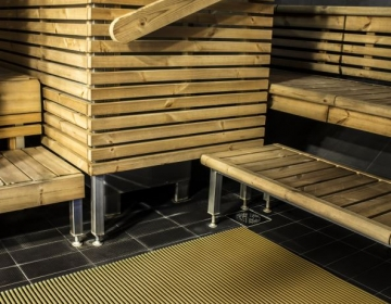Sauna, leiliruumi põrandamatt 6