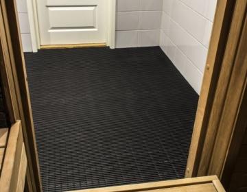 Sauna, leiliruumi põrandamatt 1