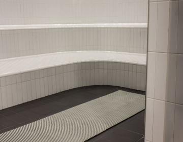 Sauna, leiliruumi põrandamatt 5
