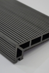 Puitplastkomposiidist (WPC) servalaud | õõnes laud | 4 meetrit | grafiit