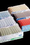 Mosaiik ruudumatt pesuruumi Must | 7 PAKKI LAOS