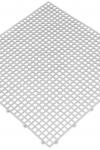 Pesuruumimatt pehme Valge 0,9 m2