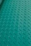 Roheline Diamond rullkatte kummist TELLIMISEL