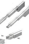 Universaalne pikendusdetail alumiinum talale | pikkus 30 cm  | LAOTOODE |