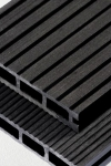 Puitplastkomposiidist (WPC) terrassilaud | õõnes laud | 4 meetrit | grafiit (LAOTOODE) |5,50 €/jm
