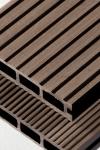 Puitplastkomposiidist (WPC) terrassilaud | õõnes laud | 4 meetrit | tumepruun (LAOTOODE) | 4,90 €/jm
